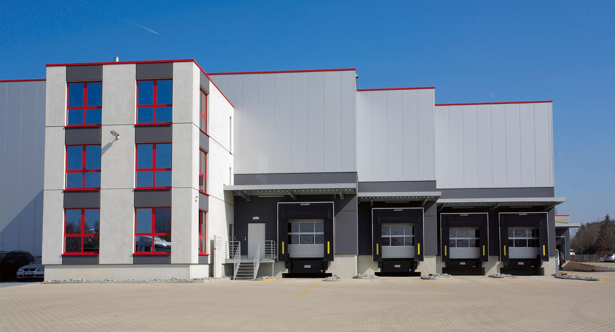 Referenzen - EUDUR-Bau | Industriebau, Fassaden ...