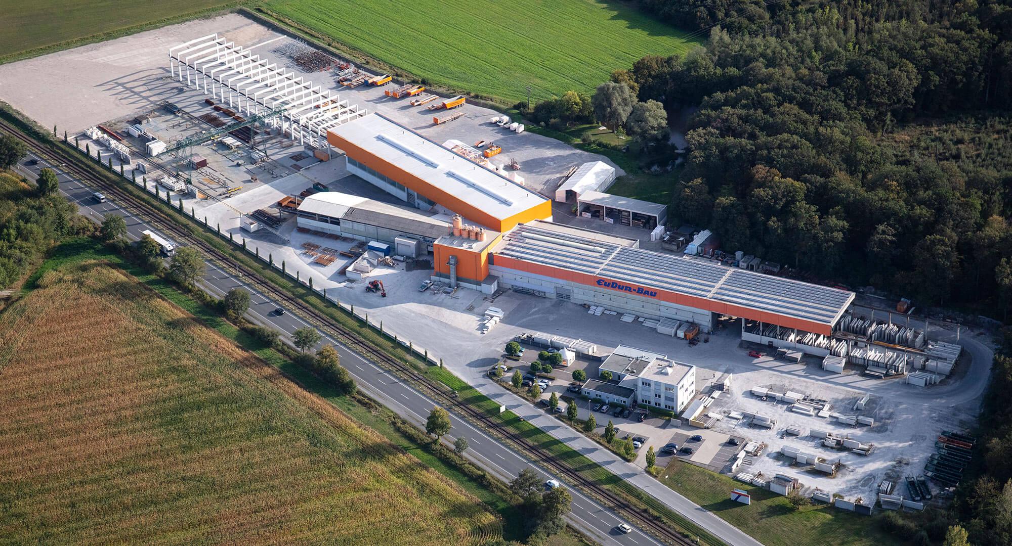 Unternehmen - EUDUR-Bau | Industriebau, Fassaden ...